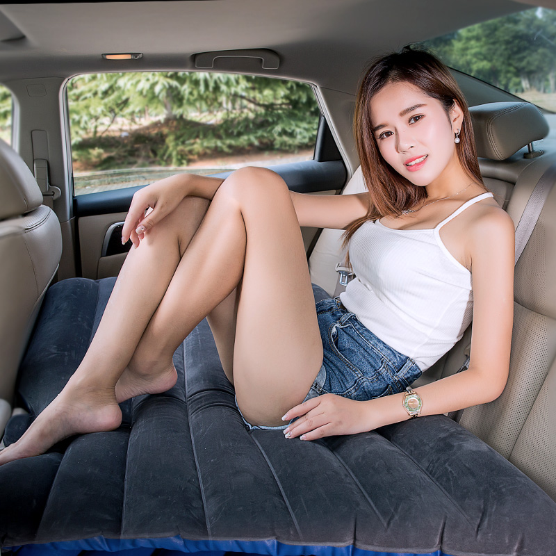 The car car car SUV inflatable bed bed bed bed MPV car travel car SUV rear universal bread