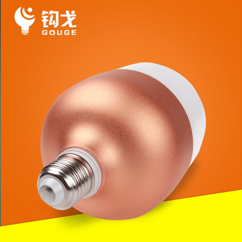 LED電球E27E40罗口省エネ電球50W0W75W白光黄光球泡大出力