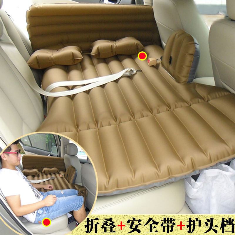The BMW 3 Series car GT inflatable bed multi-function folding mattress children travel travel back the car driving mattress