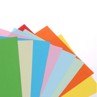 APP color copy paper 80g pink yellow color printing paper A4 paper origami multicolor 100 / bag