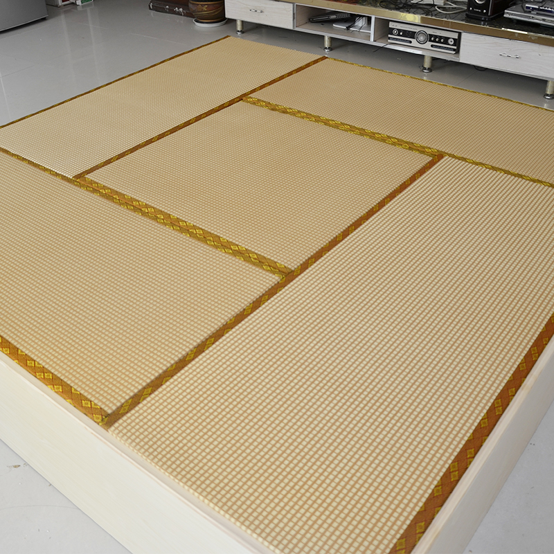 185b. barna 塌塌米 egyedi rendelésre készült szövedék matrac kókusz szőnyeg barna noteszt teriyaki kangokra kétszínű 地台 párna.