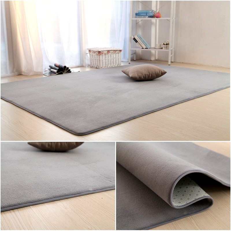 Coral velvet carpet covered the household can be washed by hand sleeping mats anti-skid tatami bedroom thickened children crawling blanket