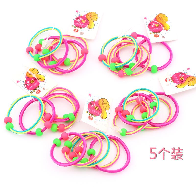 【5根装】 韩国头绳宝宝儿童发绳发圈头饰品女童扎头发小皮筋