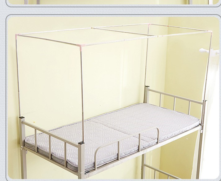 Explosion, student dormitory, upper and lower berth mosquito net support, stainless steel pole bed frame, 0.9m1.2 meter bed
