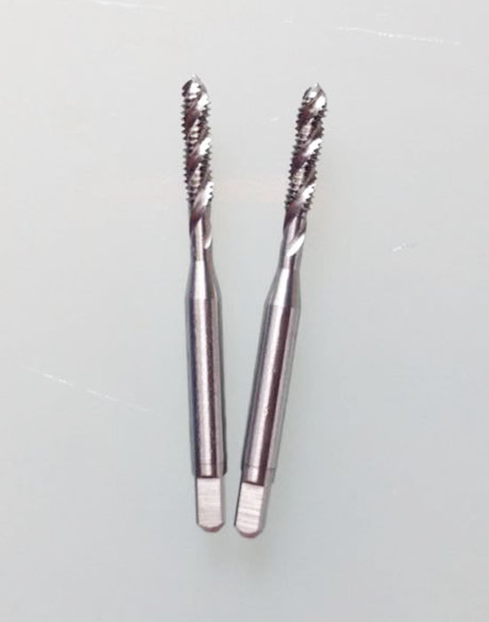 Replace OSGYAMAWA imported cobalt high speed steel machine tap screw thread tapping 5#-40UNF stainless steel