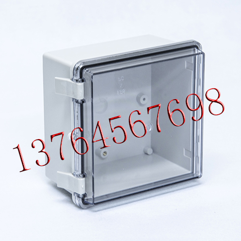150*150*90 transparent cover, hinge type buckle, anti water tank, plastic junction box, waterproof junction box