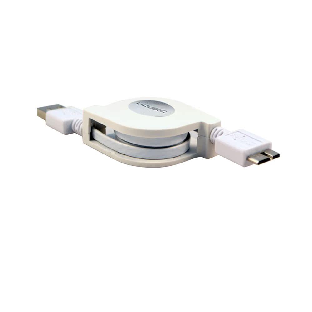 Aucune marge de téléphone Samsung télescopique de disque dur mobile de charge rapide de données de ligne de la foudre l'androïde bracelet
