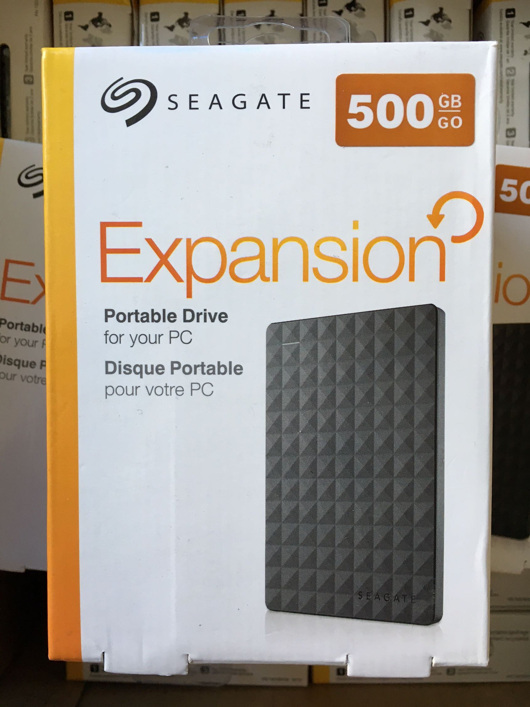 Seagate/ 500g mobile festplatte Seagate Gipfel 2,5 - Zoll - USB - 3.0 - nicht 1TB3 Jahre garantie