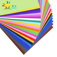 4K color card manual kindergarten children hand DIY materials wholesale thickened origami 180g23 color