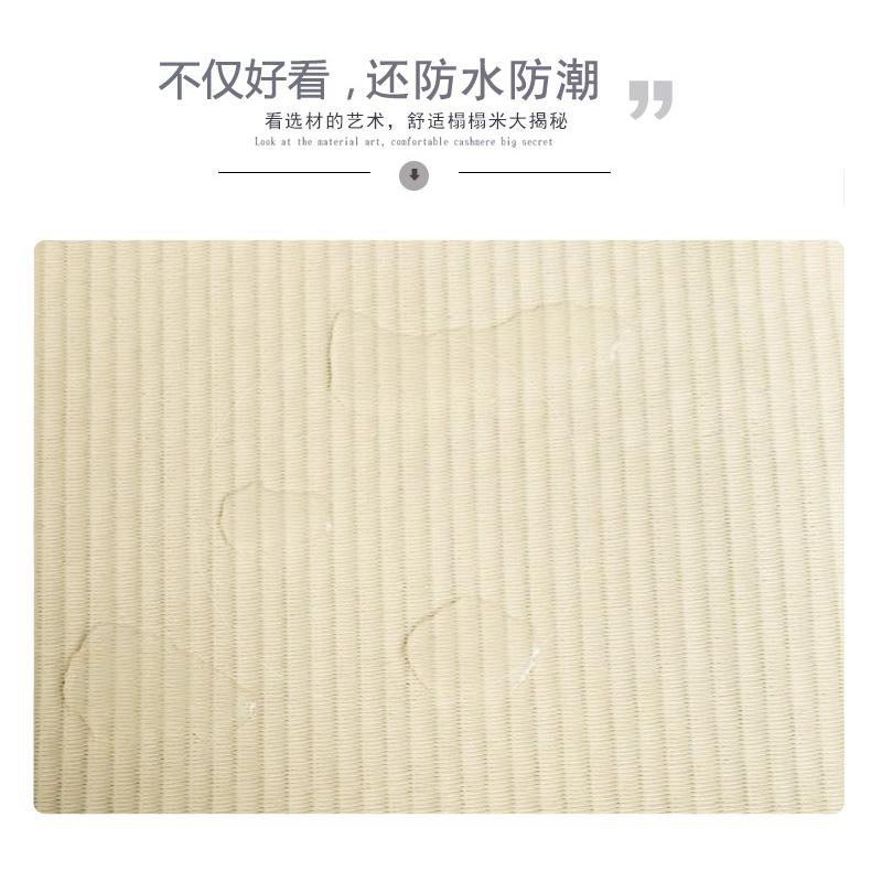 The new waterproof tatami mats Royal rattan seats platform m mat natural coconut palm mattress Japanese cushion mats