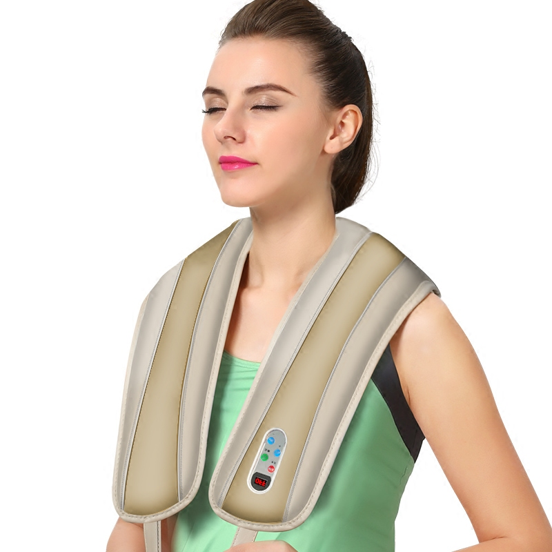 Chuibei is beating hammer neck small fist electric hand slap on the shoulder vibration kneading massage device for cervical vertebra