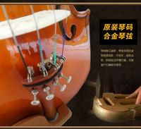 Playing the violin class adult tiger violin violin wood pattern for beginners beginners / children play?
