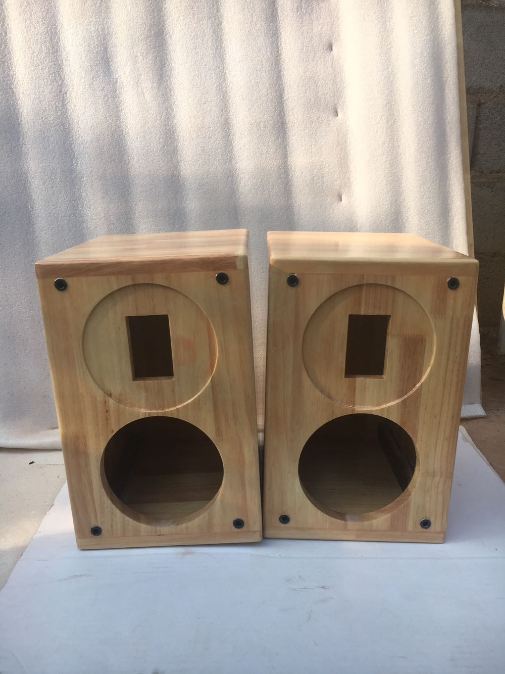 あつらえる木造スピーカー45寸6 . 5寸はち寸の全週波数二週波数分割HiFi本棚DIY Hi熱の箱