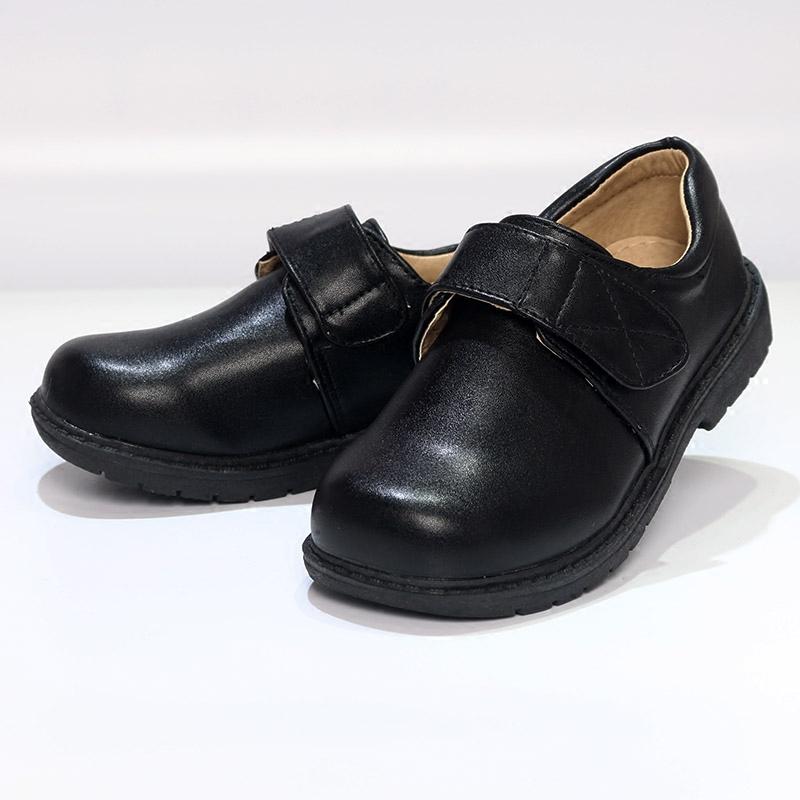 男童黑皮鞋表演出鞋秋冬新款宝宝英伦风学生儿童秋季韩版中大童鞋