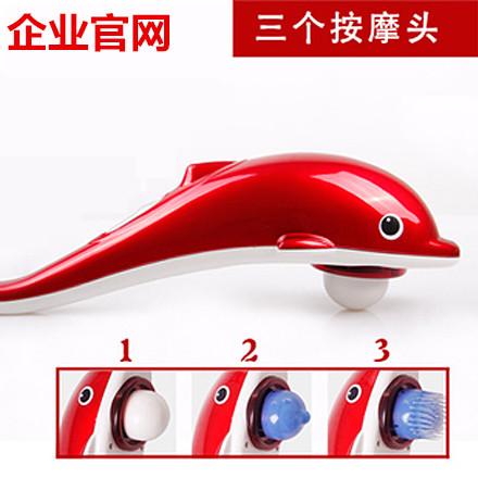 массаж спины, шеи, плеч палку дельфинов массажеры инфракрасный электрический шок бьет талии массаж ног