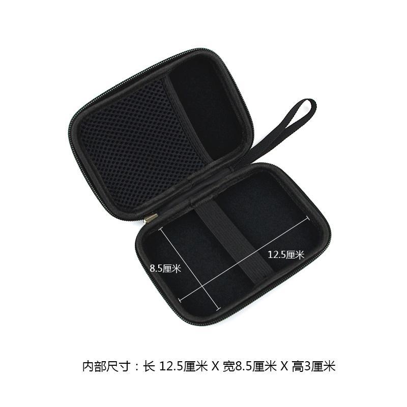 Coque de protection de 2,5 pouces disque dur mobile de paquets x ensemble adhésif WD Seagate universel de paquets de réception de disque numérique résistant aux chocs