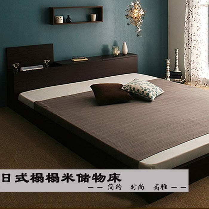 The new multifunctional tatami bed plate storage bed custom 1.51.8 meters