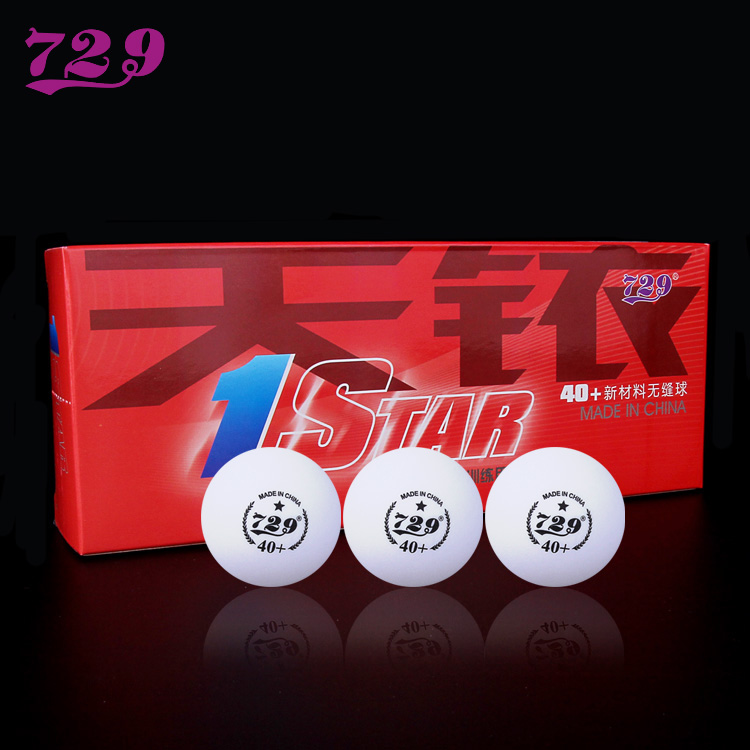 (factory direct selling) 729 table tennis genuine iridium seamless one star table tennis new material 40+ seamless ball
