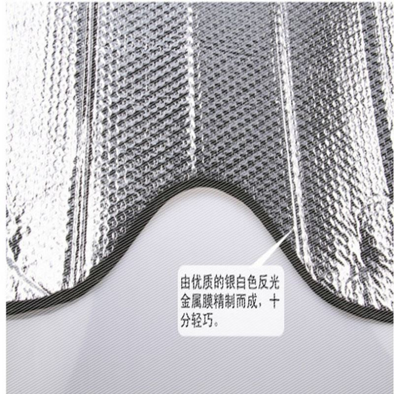 Front windshield cover, car sun shade, sun protection heat shield, rear bumper, aluminum foil sucker, general purpose of sun visor