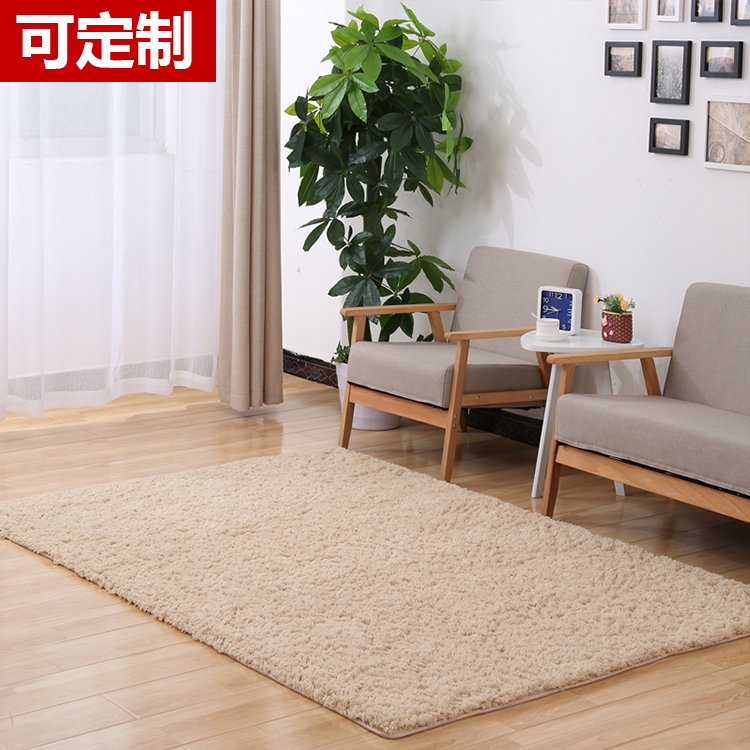Solid color mosaic bedroom carpet in the living room covered the surface of the foam pad household puzzle Plush tatami floor mat