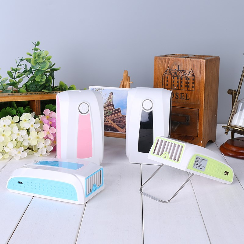Mini type rechargeable Fan USB palm air conditioning refrigeration handheld portable non leaf creative students