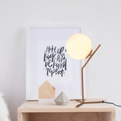 欧式美式大气简约设计创意酒店床头高档卧室客厅书桌化妆玻璃台灯