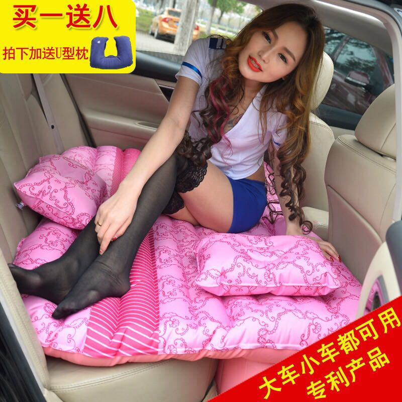 TOYOTA crown car inflatable mattress outdoor portable travel bed car seat SUV car air bed
