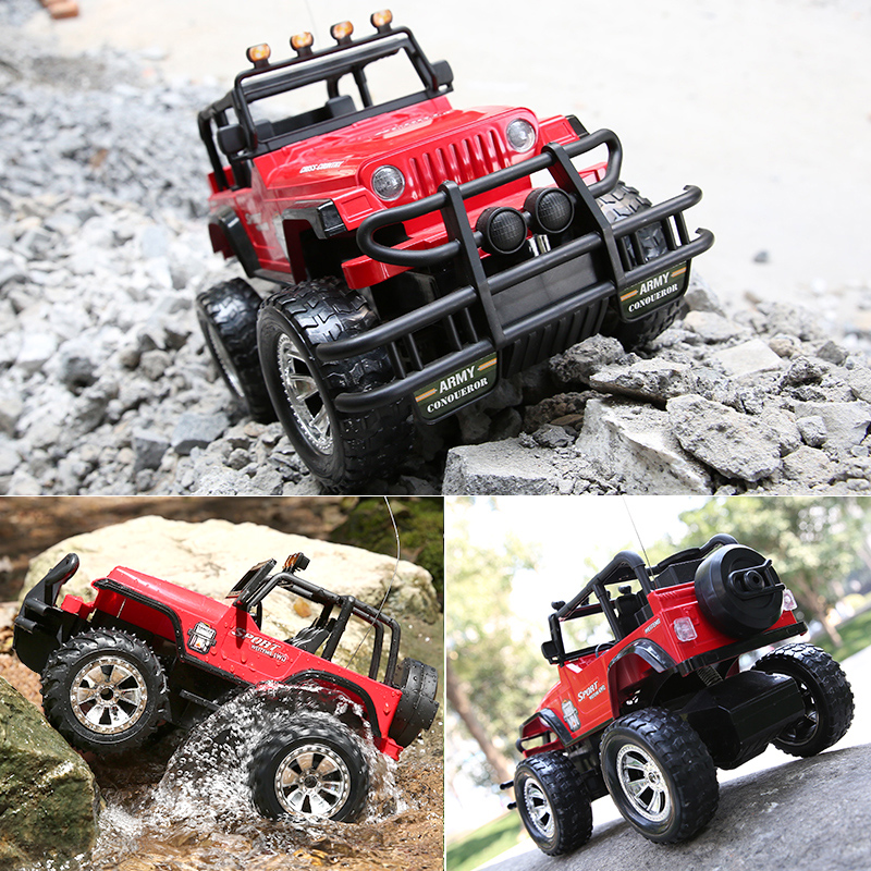 Crash charging racing car two drive climbing adult off-road toy male high speed remote control car child anti-collision waterproof