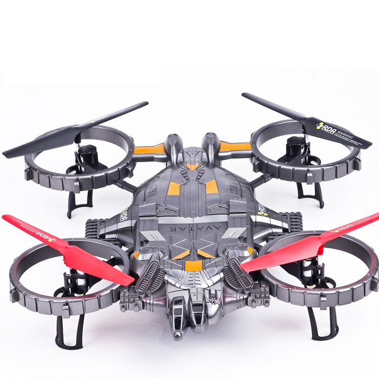 Yade Aviator model YD712 large fighter 2.4G four-channel four-rotor UFO RC aircraft