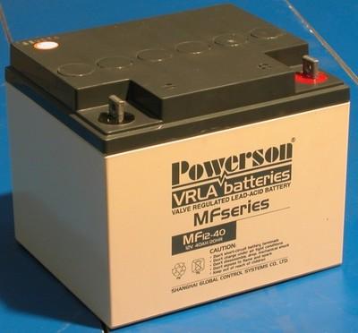 Genuine battery 12V33AH battery protector MF12-33Ah Fuhua genuine original UPS battery