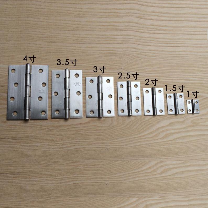 кабинет двери деревянные двери петли из нержавеющей стали простота Распределительные шкафы с вкладными листами 2,5 - дюймовый плоский открыть 3,5 дюйма ванной шкафы