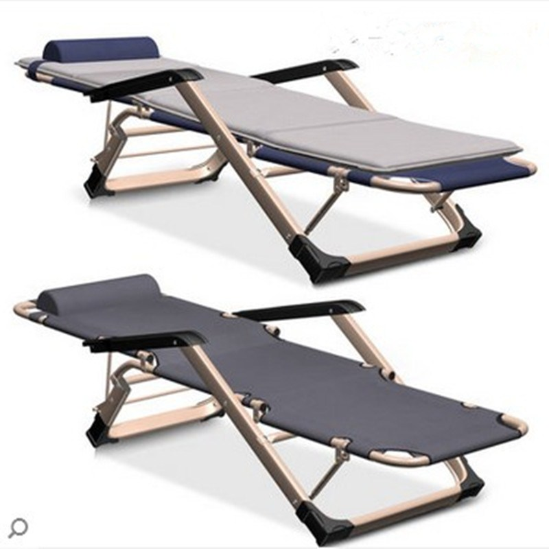 Chair folding chair folding chair office chair nap bed single folding bed bed siesta beach chair chair