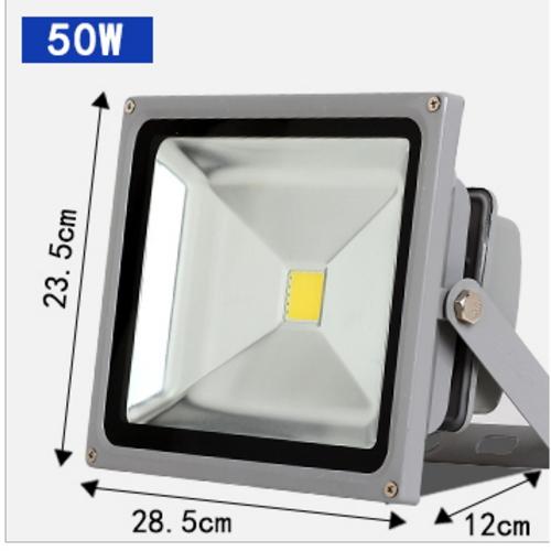 Lampe à del de lumière d'éclairage extérieur de phare extérieur étanche à l'eau 50W100W200W watts de 220 volts d'éclairage antidéflagrant de lumière de recherche