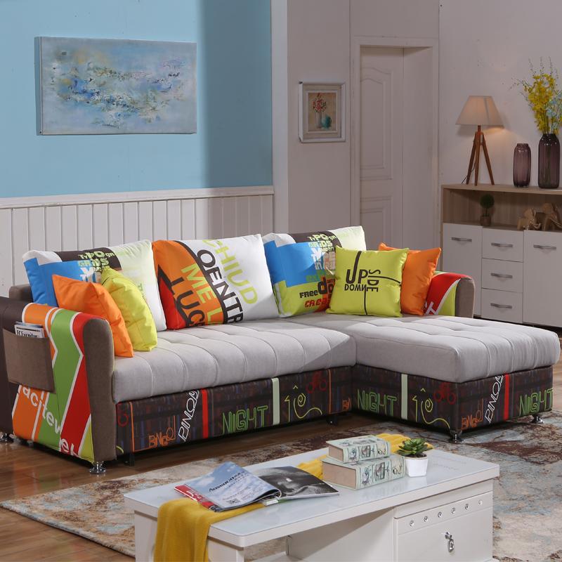 καναπέ, καναπέ - κρεβάτι σύγχρονο μινιμαλιστικό σαλόνι το μέγεθος της πριγκίπισσας έτοιμες καναπές γωνίας συνδυασμός μεγέθους