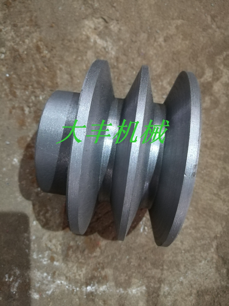 Belt pulley, cast iron belt pulley, triangle belt pulley, B type 4.7 inch 120mm1-5 groove