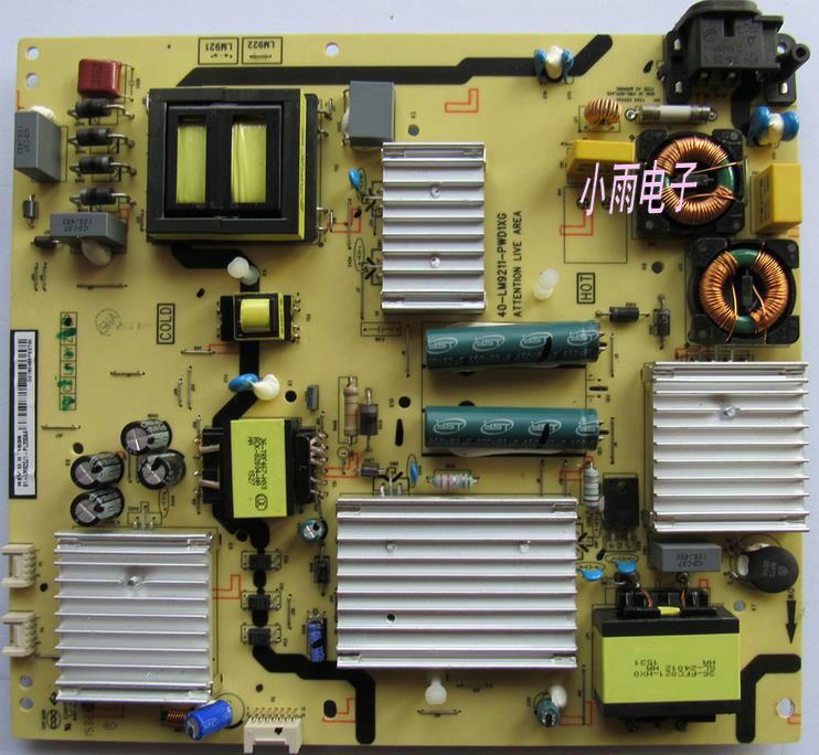TCLL55H8800A-CF55 televisore LCD controluce un flusso Costante di Booster del Consiglio ad alta tensione.