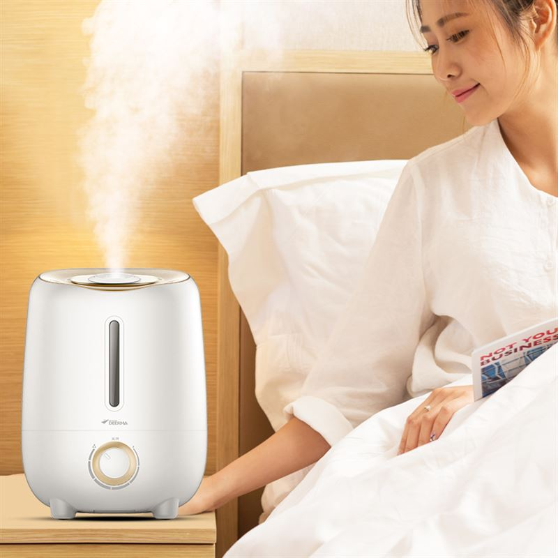 Mute humidifier, home bedroom, pregnant women, mini mini office, air purifying and fragrance machine