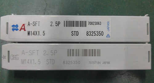 Japan OSG taps 8325350 spiral SFT specifications M14*1.5 (price confirmation)