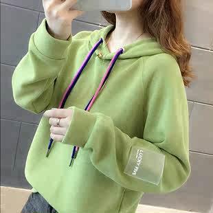 【棉面料】卫衣女韩版潮新款ins衣服秋冬季上衣女学生韩版宽松长