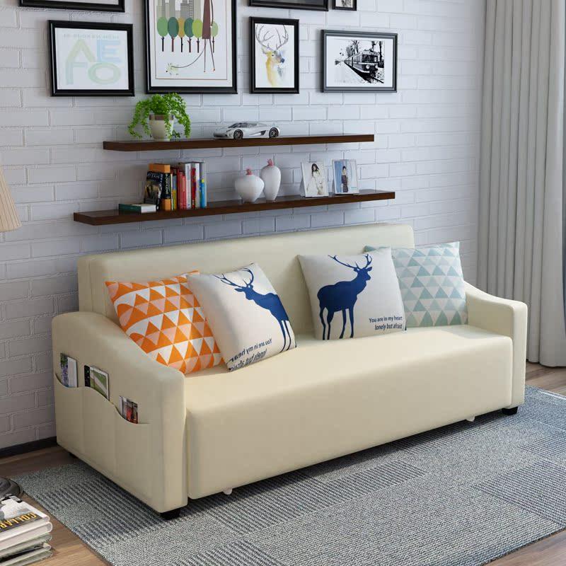λατέξ μπορεί να πτυσσόμενο καναπέ - κρεβάτι 1,8 σαλόνι μικρό διαμέρισμα διπλό ένταση πολυλειτουργική με την αποθήκευση του 1,5 m