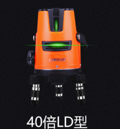 เส้นเลเซอร์เครื่องมือวัดระดับอัตโนมัติ Anping 2 ครั้ง , ระดับความแม่นยำสูงพร้อมขาตั้งกล้องวัดระดับหอเท้า