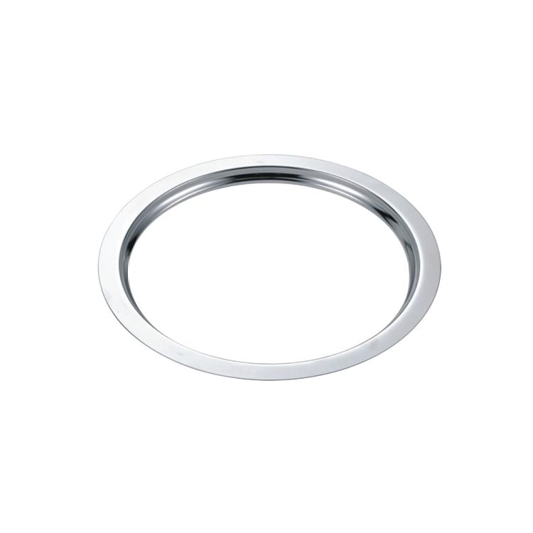 Olla de acero de horno de fuego electromagnética Hornillo mesa circular de acero inoxidable de bolitas de acero sin anillo de fuego de la caldera