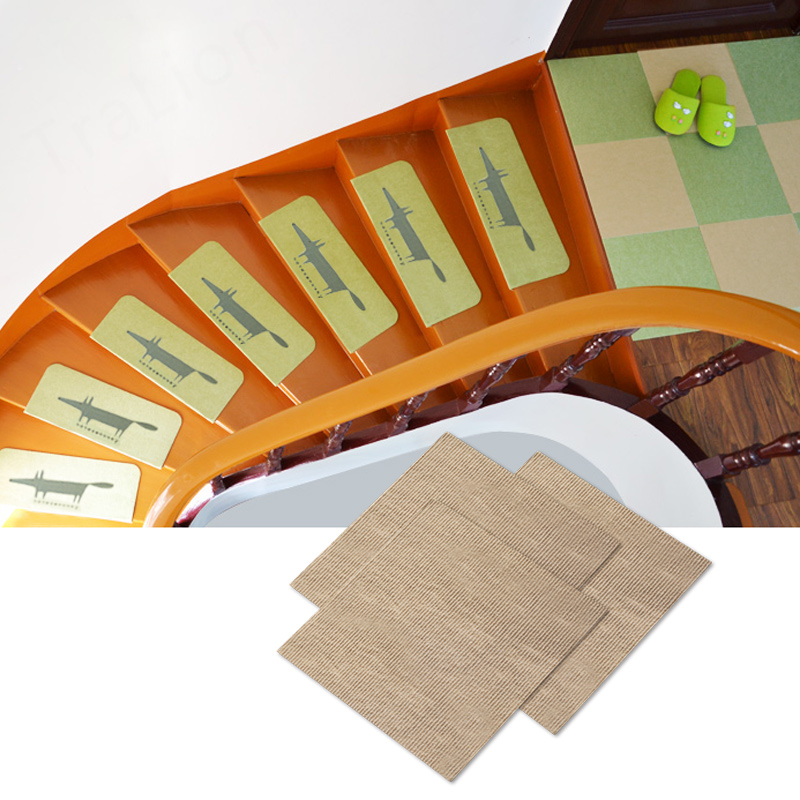 The stairs to the bedroom carpet pad stitching covered with tatami mats mat doormat door baby pad slip