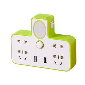 学生寝室宿舍usp充电插排带USB多孔插线板插座排插多功能万能转换