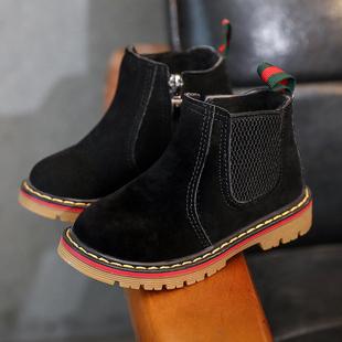 天天特价儿童马丁靴冬韩版儿童雪地靴男童宝宝鞋女童靴子短靴皮靴