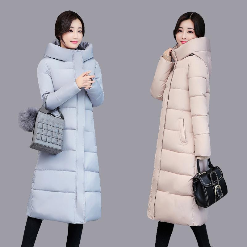 hver dag særlige vinter frakke jakke bløde søster koreanske mode - lang maxi - fortykket fjer jakke kvinder