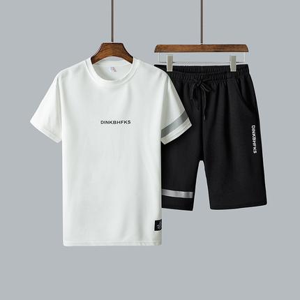 新款男士时尚韩版休闲运动套装