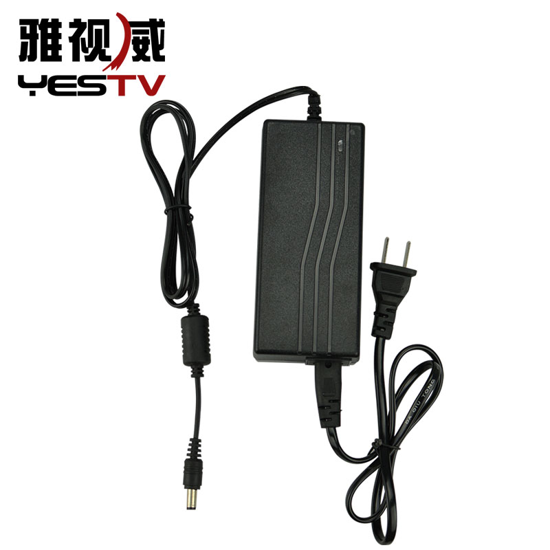 övervakning av dc 12V5A dvr... - kamera - adapter