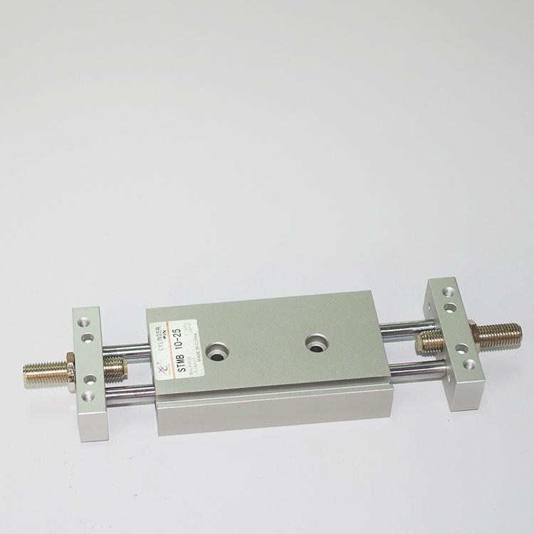 STMB/STMS10*25x50-75-100-125-150 пневматический инструмент двухшпиндельный двойной раздвижной стол цилиндр