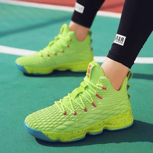 球场争锋战无不克!2019新款时尚潮流学生青年男士运动高帮篮球鞋